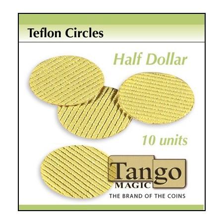 Teflon Circle Half Dollar size (10 units) by Tango -Trick (T001) wwww.magiedirecte.com