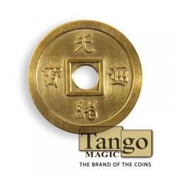 Normal Chinese coin Brass by Tango - Trick (CH013) wwww.magiedirecte.com