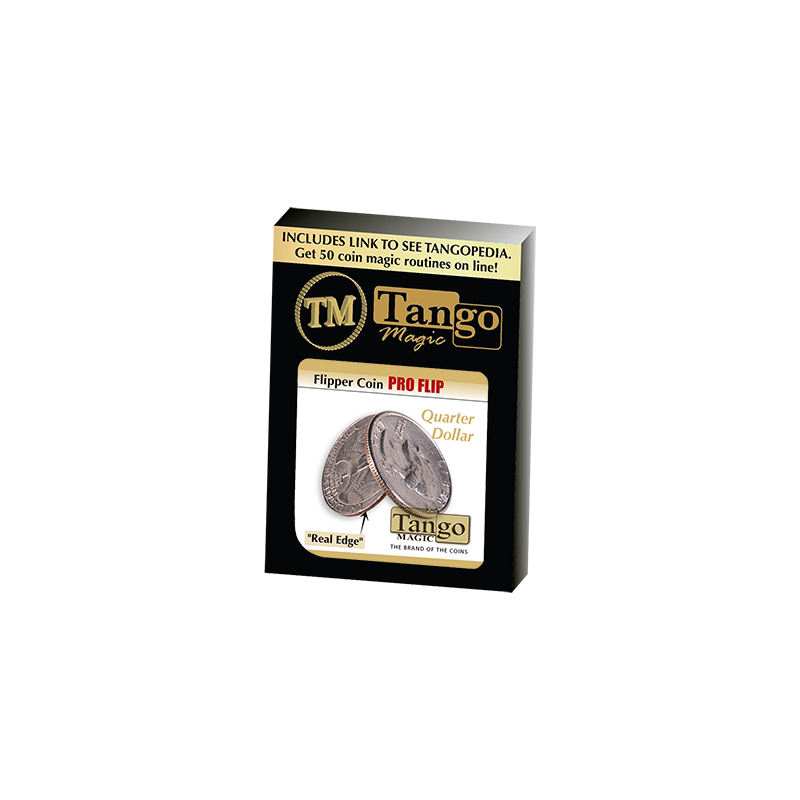 Flipper coin Pro Flip Quarter dollar (D0105) by Tango wwww.magiedirecte.com