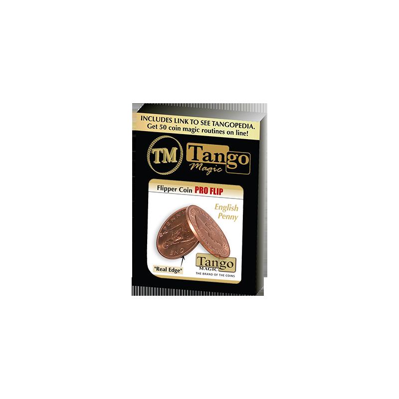 FLIPPER COIN PRO Elastic System (English Penny) - Tango Magic wwww.magiedirecte.com