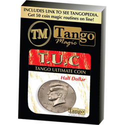 Tango Ultimate Coin (T.U.C)(D0108) Half dollar with instructional video by Tango - Trick wwww.magiedirecte.com