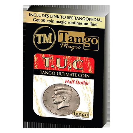 Tango Ultimate Coin (T.U.C)(D0108) Half dollar with instructional video by Tango - Trick wwww.magiedirecte.com