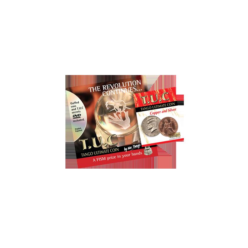 TANGO ULTIMATE COIN (T.U.C) Copper and Silver - Tango wwww.magiedirecte.com