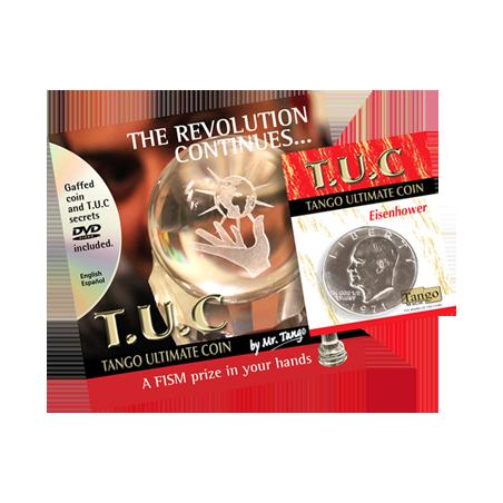 Tango Ultimate Coin (T.U.C)(D0109) Eisenhower Dollar with instructional DVD by Tango - Trick wwww.magiedirecte.com