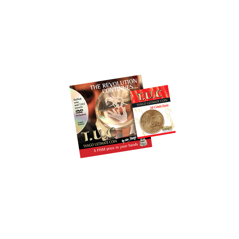 TANGO ULTIMATE COIN T.U.C (50 cent Euro) - Tango wwww.magiedirecte.com