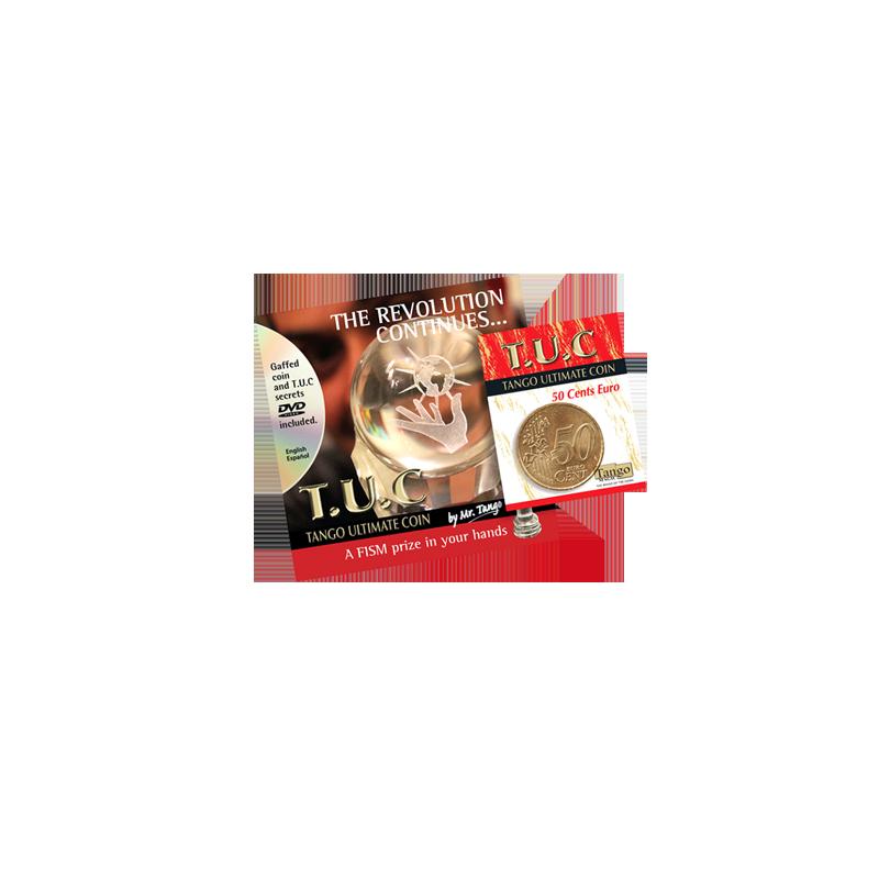 Tango Ultimate Coin w/DVD (T.U.C)(E0080)50 cent Euro  by Tango - Trick wwww.magiedirecte.com