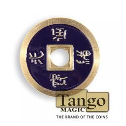 NORMAL CHINESE COIN Made in Brass (Dark Purple) - Tango wwww.magiedirecte.com