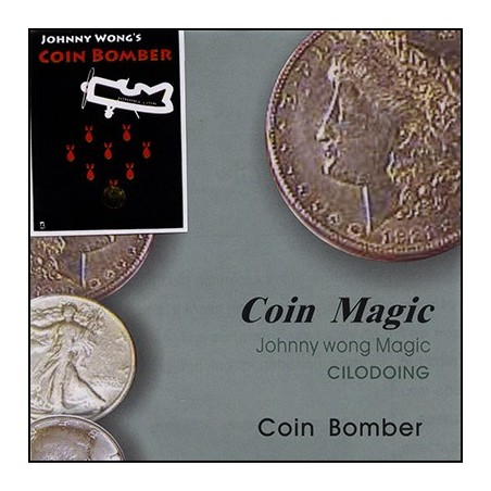 Coin Bomber (with DVD) by Johnny Wong - Trick wwww.magiedirecte.com