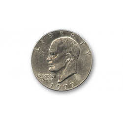 Eisenhower Dollar (Single Coin Ungimmicked) - Trick wwww.magiedirecte.com