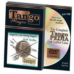 STRONG MAGNETIC (Half Dollar) -Tango wwww.magiedirecte.com