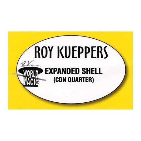 Expanded Shell Canadian Quarter - Trick wwww.magiedirecte.com