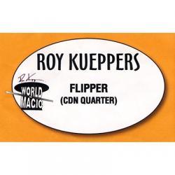 Flipper Coin - Canadian Quarter - Trick wwww.magiedirecte.com