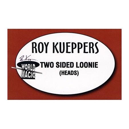 Two sided Canadian Loonie - (Heads) - Trick wwww.magiedirecte.com