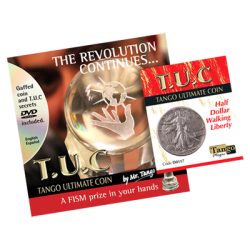 TANGO ULTIMATE COIN (T.U.C) WALKING LIBERTY HALF DOLLAR  -Tango Silver Line wwww.magiedirecte.com