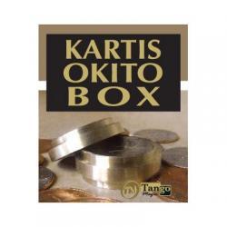 Kartis Okito Box (w/DVD) (B0027) by Tango - Trick wwww.magiedirecte.com