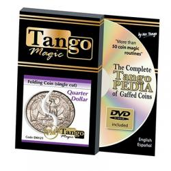 FOLDING (Quarter dollar) -Tango wwww.magiedirecte.com