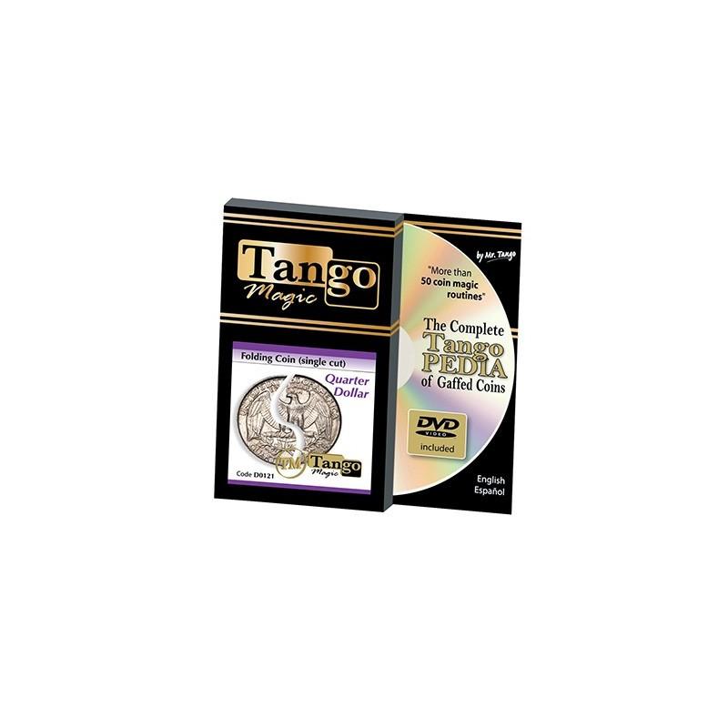 FOLDING (Quarter dollar) -Tango wwww.magiedirecte.com