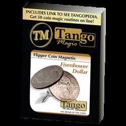 MAGNETIC FLIPPER COIN EISENHOWER (Dollar) - Tango wwww.magiedirecte.com