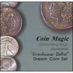 DREAM COIN SET EISENHOWER - Johnny Wong wwww.magiedirecte.com