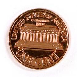 DOLLAR SIZED PENNY wwww.magiedirecte.com