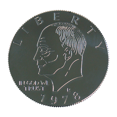 EISENHOWER PALMING COIN (Dollar) - You Want it We Got it wwww.magiedirecte.com