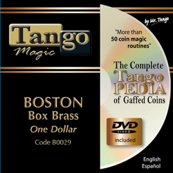 BOSTON COIN BOX BRASS (One Dollar) -Tango wwww.magiedirecte.com