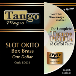 SLOT OKITO COIN BOX Brass (One Dollar) - Tango wwww.magiedirecte.com