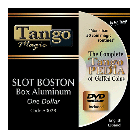 SLOT BOSTON COIN BOX - Aluminium (One Dollar) - Tango wwww.magiedirecte.com