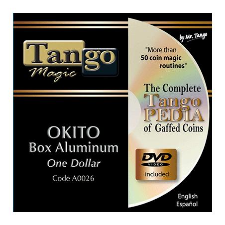 OKITO COIN BOX - Aluminum (One Dollar) - Tango wwww.magiedirecte.com