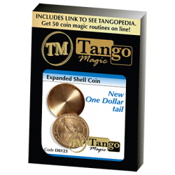EXPANDED SHELL NEW ONE DOLLAR (Tails) - Tango wwww.magiedirecte.com