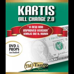 KARTIS BILL CHANGE 2.0 - Kartis wwww.magiedirecte.com