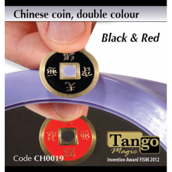 CHINESE COIN NOIR & ROUGE - Tango wwww.magiedirecte.com