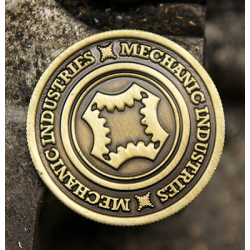 FULL DOLLAR COIN (Bronze) - Mechanic Industries wwww.magiedirecte.com