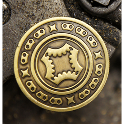 FULL DOLLAR COIN (Bronze) - Mechanic Industries wwww.magiedirecte.com