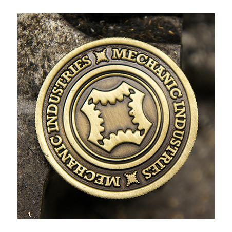 HALF DOLLAR COIN (Bronze) - Mechanic Industries wwww.magiedirecte.com