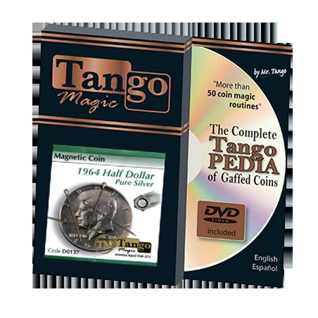 MAGNETIC COIN (Half Dollar 1964) - Tango wwww.magiedirecte.com