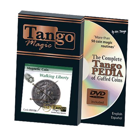 MAGNETIC COIN (Walking Liberty) - Tango wwww.magiedirecte.com