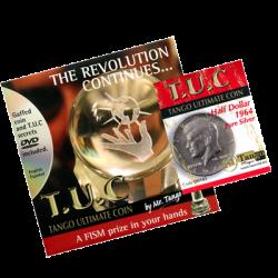 TUC Pure Silver Half Dollar (w/DVD) (D0145) by Tango - Trick wwww.magiedirecte.com