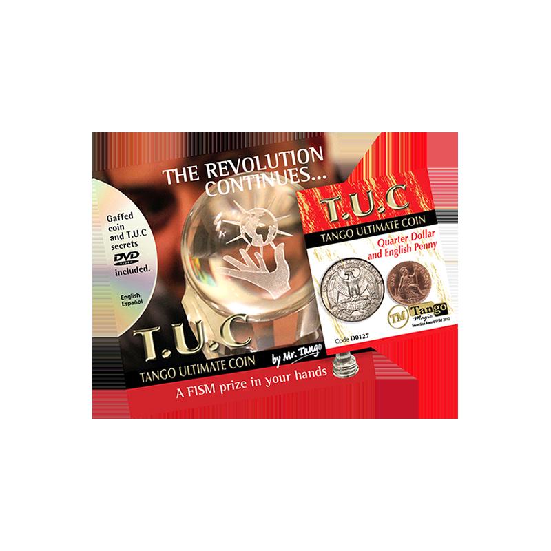 TANGO ULTIMATE COIN (T.U.C) (Quarter/Penny) - Tango wwww.magiedirecte.com