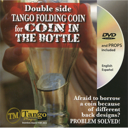 DOUBLE SIDE FOLDING 50 Cent Euro (Internal System) - Tango wwww.magiedirecte.com