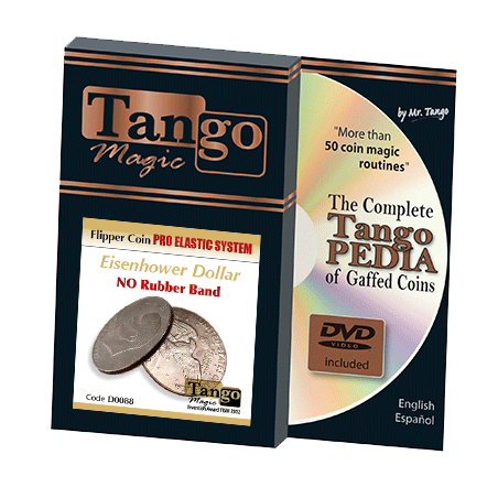 FLIPPER COIN PRO ELASTIC SYSTEM (ONE DOLLAR) - Tango wwww.magiedirecte.com