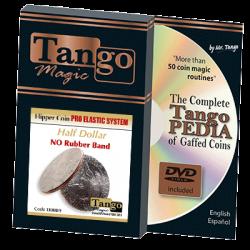 FLIPPER COIN PRO ELASTIC SYSTEM (HALF DOLLAR) - Tango wwww.magiedirecte.com