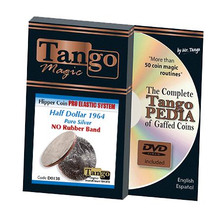 FLIPPER COIN PRO ELASTIC (Half Dollar 1964) - Tango wwww.magiedirecte.com
