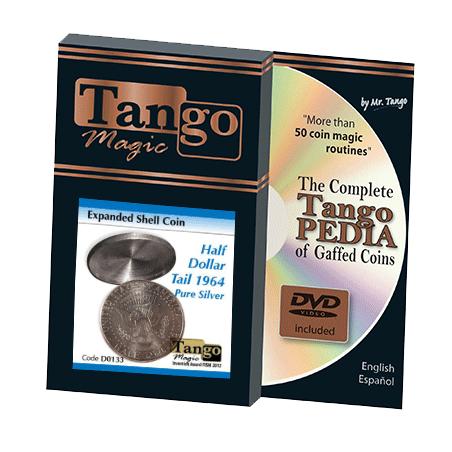 EXPANDED SHELL HALF DOLLAR 1964 (Tail) - Tango wwww.magiedirecte.com