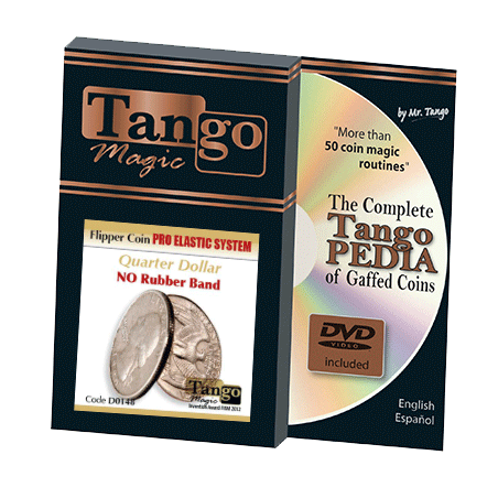 FLIPPER COIN PRO ELASTIC SYSTEM (QUARTER DOLLAR) - Tango wwww.magiedirecte.com