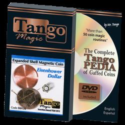 EXPANDED SHELL MAGNETIC (Dollar Eisenhower)  - Tango wwww.magiedirecte.com