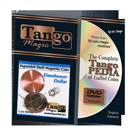 EXPANDED SHELL One Dollar Eisenhower Magnetic - Tango wwww.magiedirecte.com