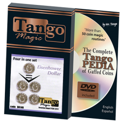 FOUR IN ONE Set (Eisenhower Dollar) -Tango wwww.magiedirecte.com