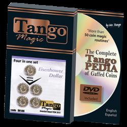 FOUR IN ONE Set (Eisenhower Dollar) -Tango wwww.magiedirecte.com