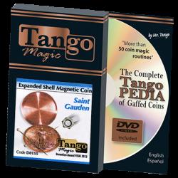 EXPANDED SHELL MAGNETIC (Saint Gauden) - Tango wwww.magiedirecte.com